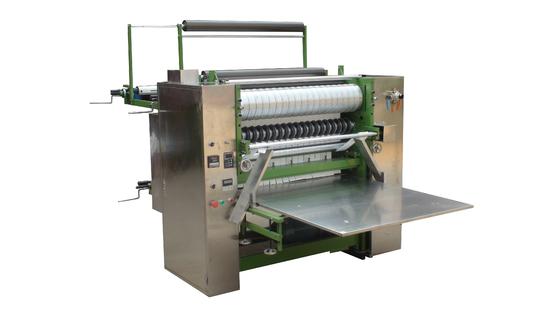 China Plain Cotton Pad Making Machine , Round Edge Cotton Pads Machine supplier