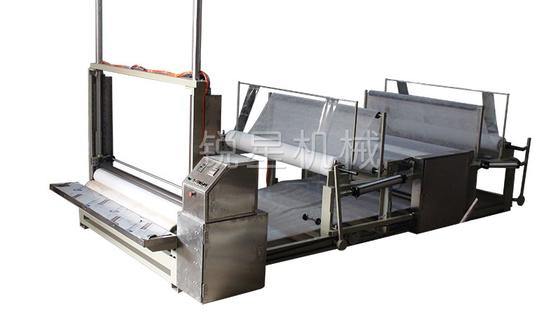 China 50HZ 3.5kw 380V Fabric Slitting Machine Pneumatic Servo Transmission Rewinding Machine supplier