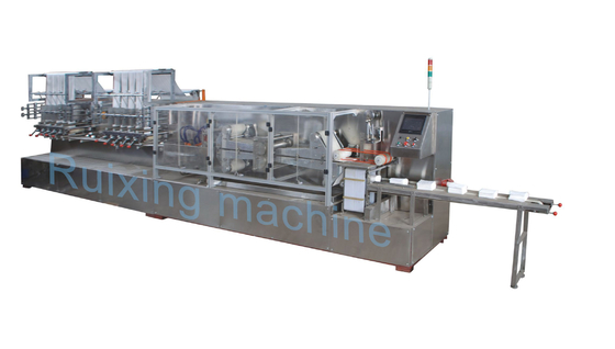 High Speed Baby Wipes Production Line Wet Tissue Packing Machine