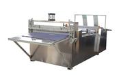 China Fabric Cutting Rewinding Non Woven Slitting Machine 1200mm Cutting Width factory