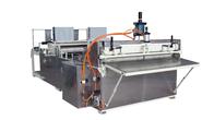 China Fully Automatic Ultrasonic Non Woven Slitting Machine Edge Sealing Effect factory