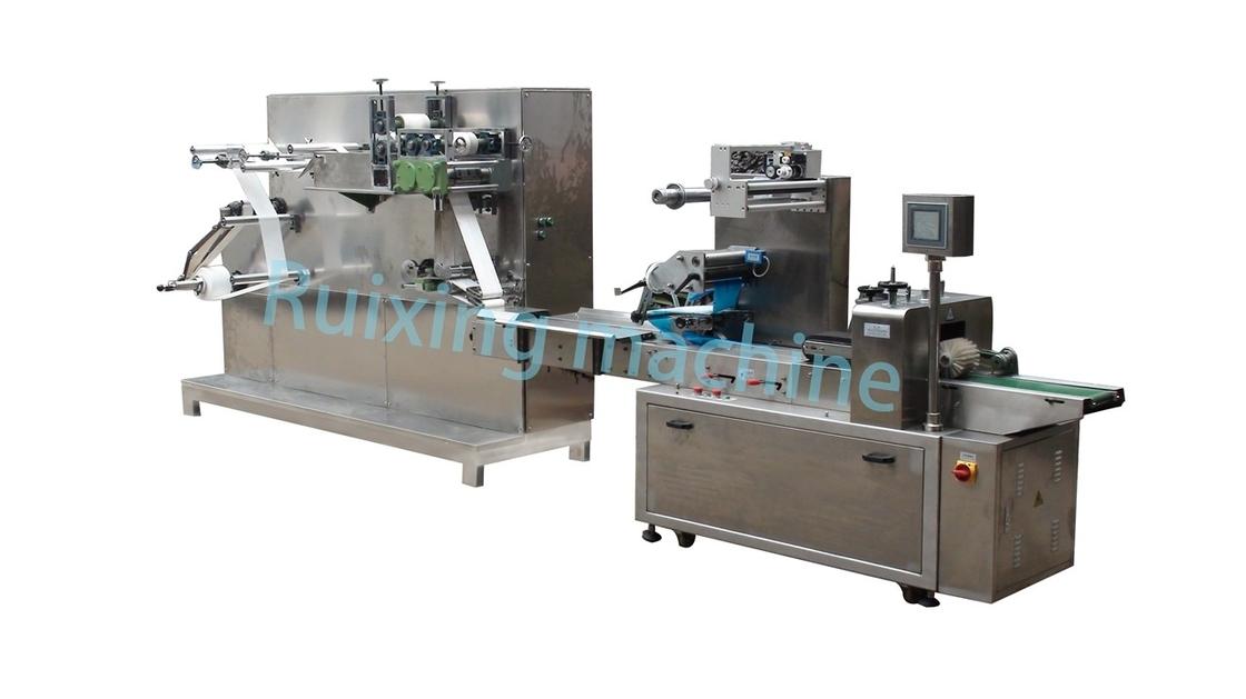 Stainless Steel Auto Wet Wipes Machine , Wet Wipes Manufacturing Machine