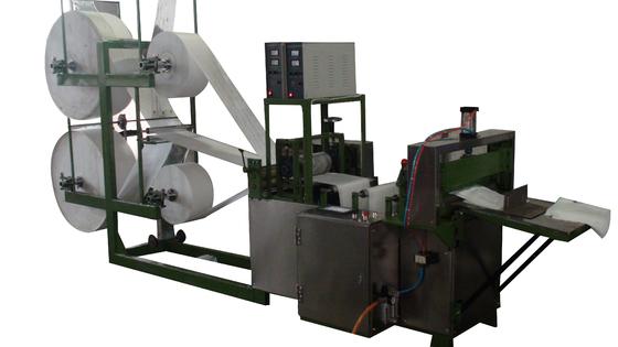 China High Speed Multi - Size Ultrasonic Cutting Machine No Woven Slice Machine distributor